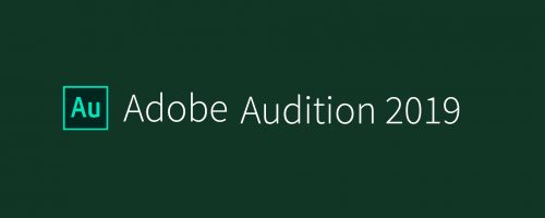 Audition CC 2019 Free Download