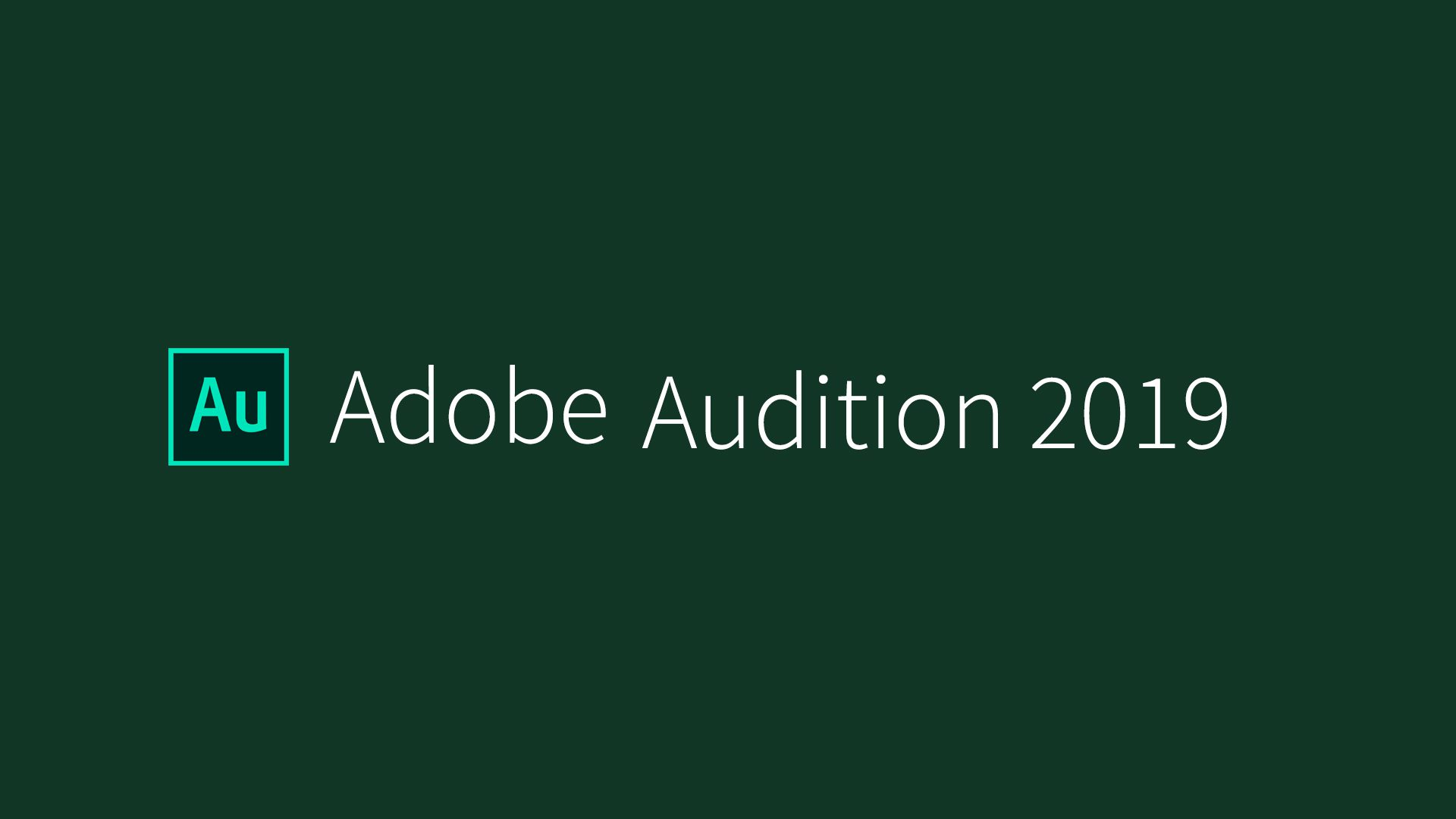 Adobe Audition CC 2019 Free Download v12.1.1.42
