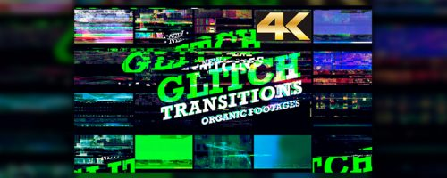 VideoHive – Glitch Transition 4K Free Download