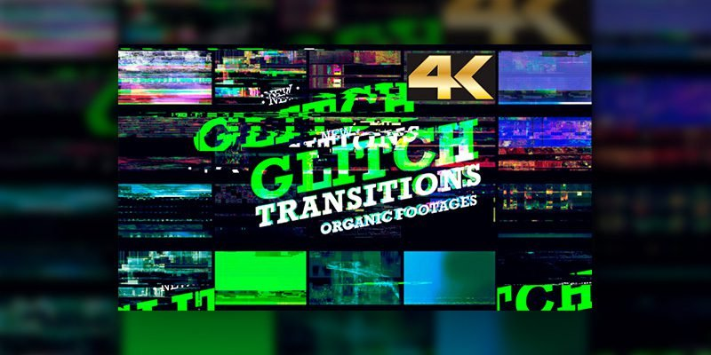 VideoHive – Glitch Transition 4K Free Download - AGFY