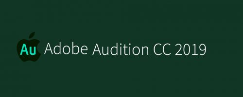 MAC Audition CC 2019 v12.1 Free Download