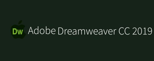 MAC Adobe Dreamweaver CC 2019 Free Download
