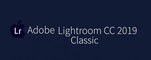 MAC Lightroom Classic CC 2019 Free Download