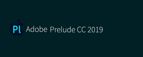 MAC Adobe Prelude CC 2019 v8.1 Free Download