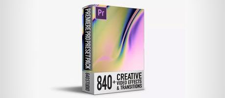 640 Studio - 840+ Transitions Pack Premiere Pro Free Download