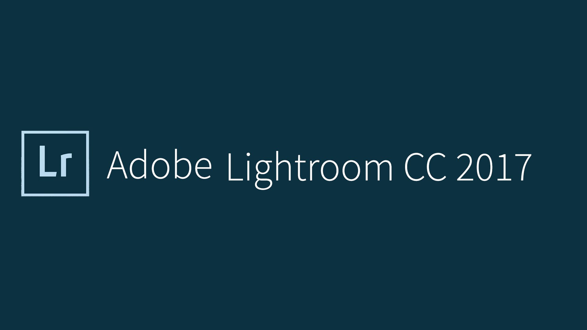 Lightroom Classic CC 2017 Free Download