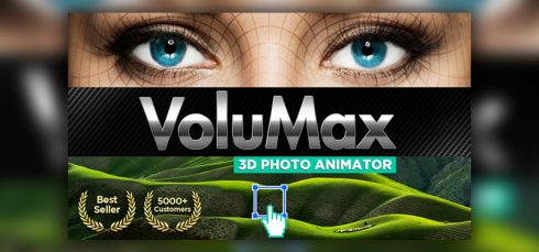 VideoHive – VoluMax – 3D Photo Animator 4.3 Pro Free Download
