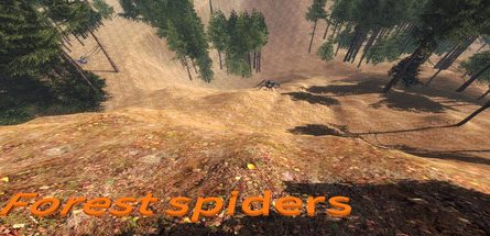 Forest spiders Free Download